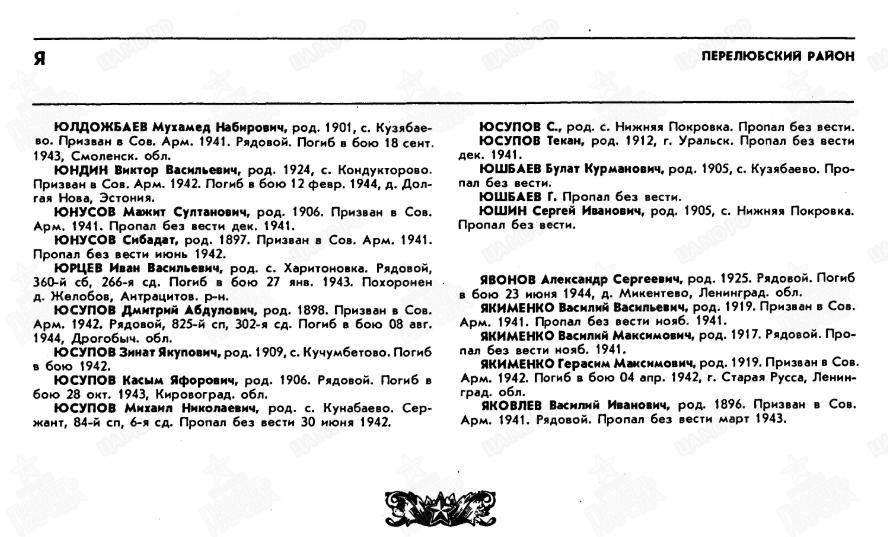 Книга памяти Саратовской области, том 5, стр. 482
